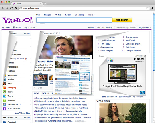 Fuck home old page where yahoo